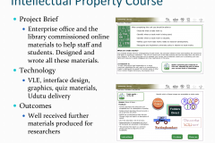 Intellectual property course